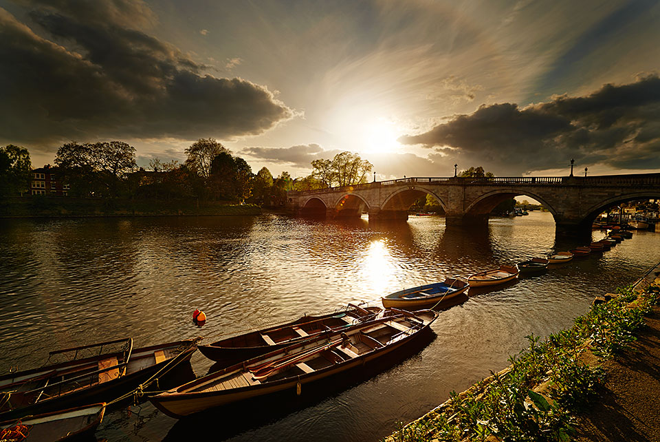 Richmond Bridge, Richmond upon Thames, London